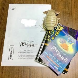 《深海生物検定》結果が届きました!