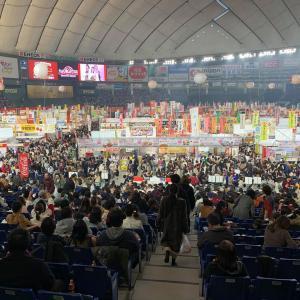 東京ドームのふるさと祭りに行ってきました