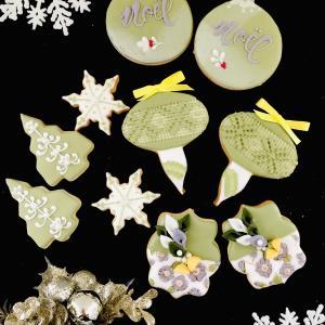 募集!【12月アイシング1dayレッスン】大人クリスマスアイシングクッキー
