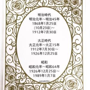 解説をチラリ垣間見る編。小さなアンティークキモノ展 2017年12月vol.9.