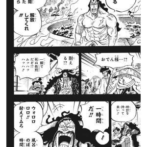 【ワンピース】四皇カイドウの「自殺したがる設定」、黒歴史化する!!