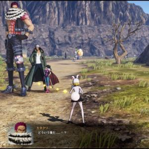 【画像】「ワンピース」、ゲームで身長を再現した結果おかしな事になってしまうwwwwww