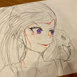【朗報】「ワンパンマン」の村田先生の娘、10歳ですでに絵が上手い!!