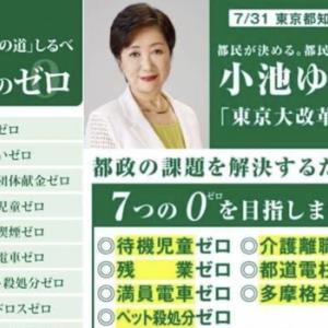 【悲報】公約達成0の小池百合子が圧勝する東京wwwww
