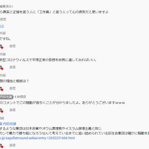 ついに谷村正和工作員が公安警察であることを認める 社会活動家に妄想でレッテルを貼る公安警察