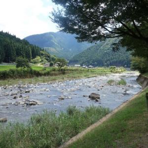 675.道の駅 みなみ波賀から、道の駅 波賀へ、そして原不動滝で、マイナスイオン浴。