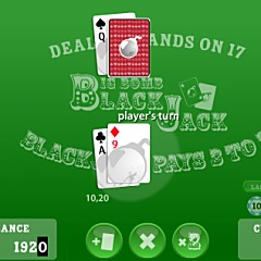 Big Bomb Blackjack Game