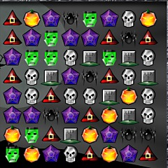 Spooky Jewels Game