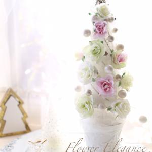 Christmas 2020 Flower Elegance☆モデルハウスレッスン
