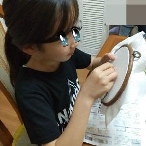 休校中 小4の次女とチャレンジしましたわ(^▽^;)