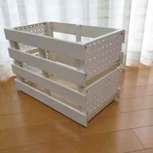 198円のすのこ と 100均商品(ダイソー商品)で木箱を作りましたわ。