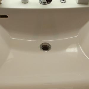 洗面台をコーティングしてみましたわ&ちょっとした家事で一日が過ぎるわ( ̄▽ ̄;)