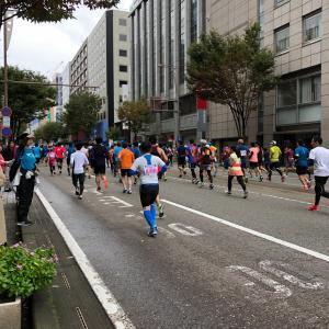 金沢マラソンスタートしました