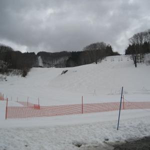 多分今シーズンの滑り納めになるか?in阿仁