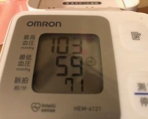 今日の夜の血圧を計ってみてビックリ!!