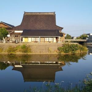 或る秋の津幡川(令和元年)。