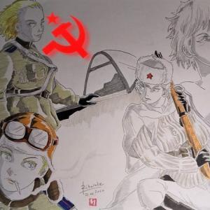 戦争は女の顔をしていない。 ~ 大祖国戦争の女性兵士。