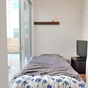3畳しかない部屋を無印ベッドでゲストルームに(1)web内覧会