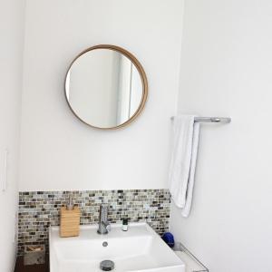 無印とIKEAでシンプルな1階手洗い場