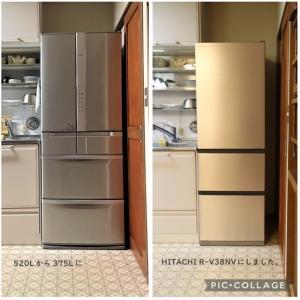 地球にも家計にも優しい省エネ冷蔵庫買いました。