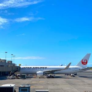 ハワイ帰国便で「ラッキー!」を感じる瞬間