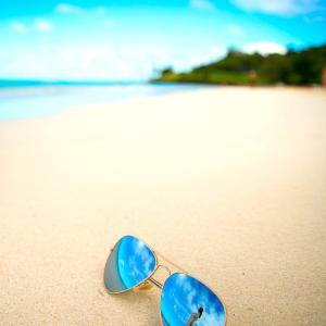 ハワイにいるか、ハワイに行く前か