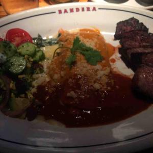 Tri-Tip and Enchilada platter@Bandera
