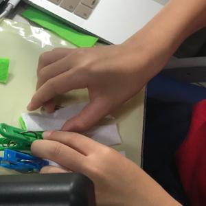 教会の小学生用プログラムもコロナ対策でオンライン開催!小4男子、オンラインプログラムに参加して、フェルトでコースター製作\(^^)/