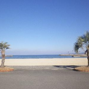 ☆天草・本渡:白い砂浜散歩