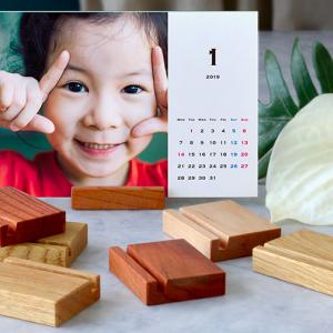 TOLOT卓上カレンダーがオススメ!破格の500円・送料無料で1年12枚の写真アルバムができる!