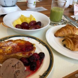 神戸ベイシェラトンホテル&タワーズ 朝食ビッフェを味わう。クラブフロア宿泊者はなんと無料!