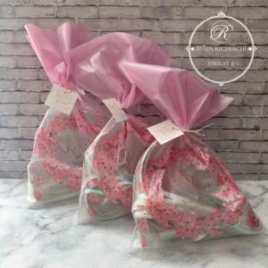 癒される桜モチーフラッピング