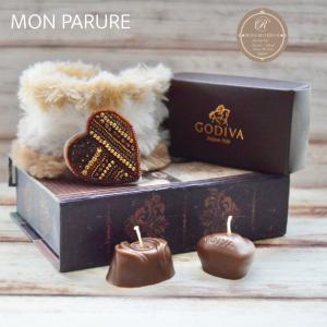 ショコラカラーの刺繍ブローチ