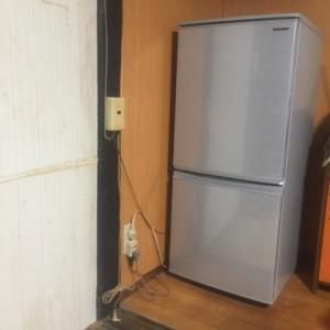 新しい冷蔵庫(義母専用)