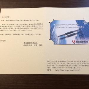 東京鐵鋼(5445)より株主優待到着2021年6月