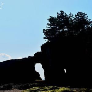 逆行のくぐり岩