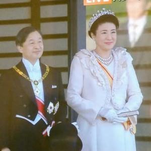 20191109_天皇陛下の即位パレード(TV)