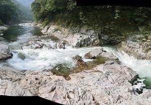 今日の鮎滝・新滝・花の木ダム