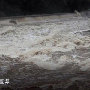 今日の長篠堰堤_2021-08-18