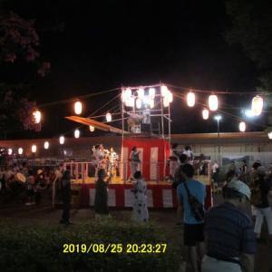 常盤平団地の54年 団地の盆踊り