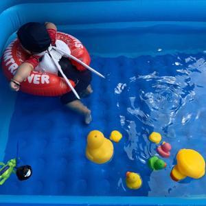 人生初めての水泳