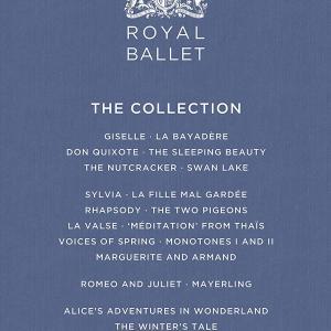 15枚組の英国ロイヤル・バレエ「ザ・コレクション」BOX、2021年9月24日に新装版で再発売!