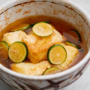 すだち揚げ出し豆腐のレシピ