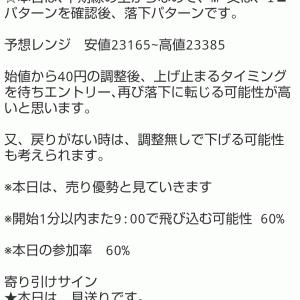 10/1 本日の結果&オーバーナイトセクション