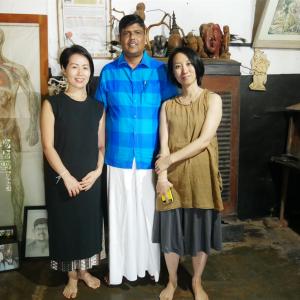 スリランカ伝統治療 ヘラウェダカマ 骨のスペシャリスト