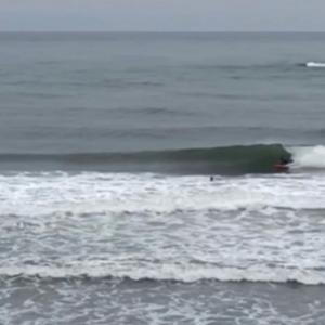 【日本海サーフィン】北風サイズアップ!無風で良い波!
