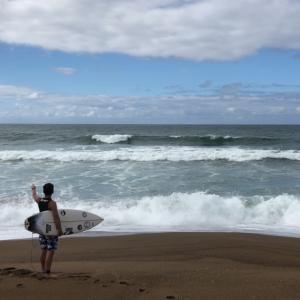 【日本海サーフィン】波あるシーズン到来⁉️
