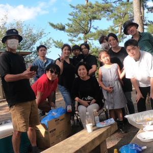 【BBQ】家族集合で海沿いBBQ久しぶりで最高!