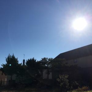 雲が無い!