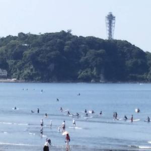 おはようございます梅雨明けの空が気持ち良いですね!8月2日9時現在の湘南・江の島〜鵠沼海...